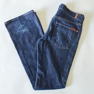 🔴3 for $25 7 For All Mankind Bootcut Jeans